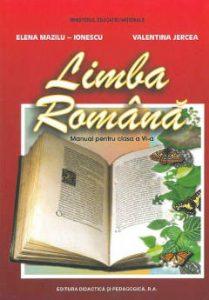 Limba română Manual pentru clasa a VI-a Editura Didactică și pedagogică