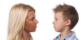 compunere dialog între mine și mama